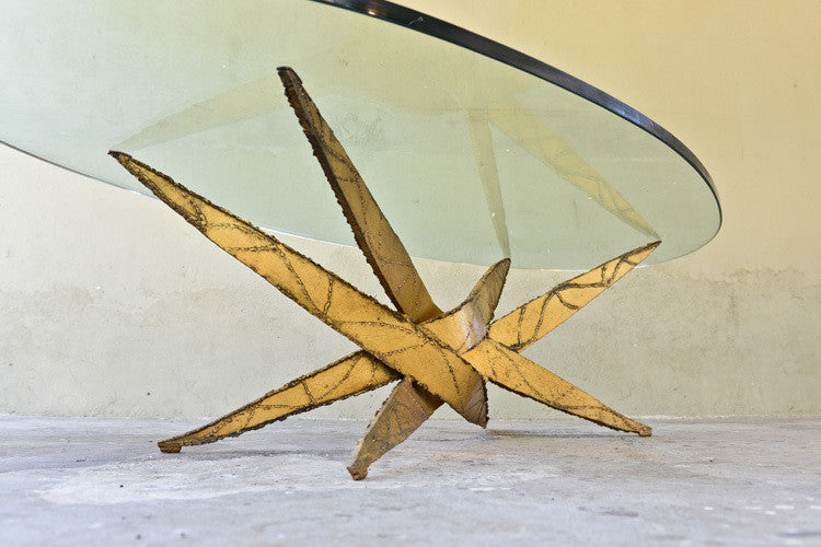 Silas Seandel Sculptural Brutalist Coffee Table