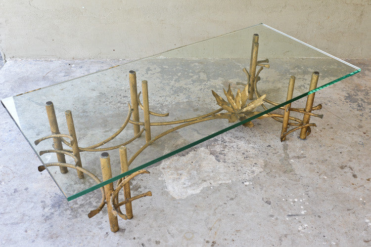 Silas Seandel Style 'Lotus' Coffee Table