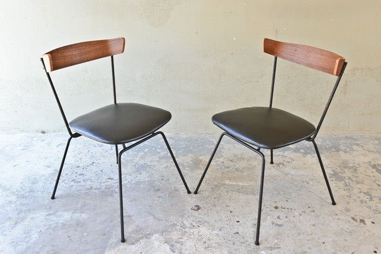 Clifford Pascoe for Modernmasters Iron Desk Chairs