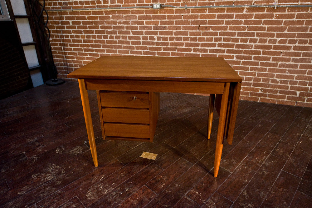 Danish Borge Mogensen Teak Drop Leaf Desk