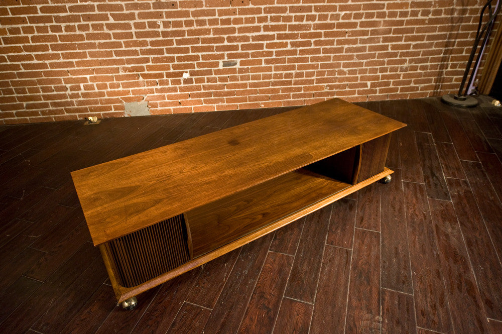 Lane 'First Edition' Walnut Coffee Table