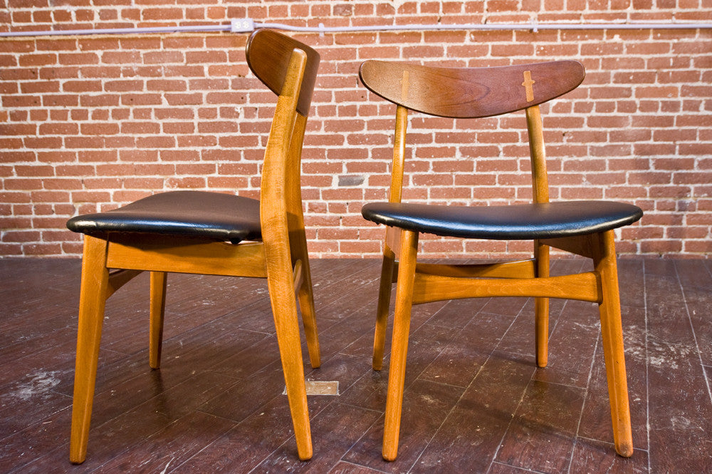 Set of Hans Wegner CH-30 Dining Chairs
