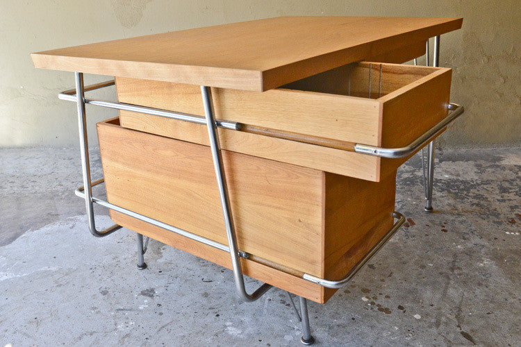 Kem Weber Tubular Chrome Desk