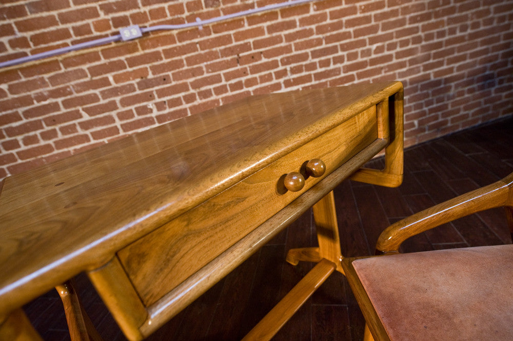 Incredible Sam Maloof Style Walnut Desk and Chair