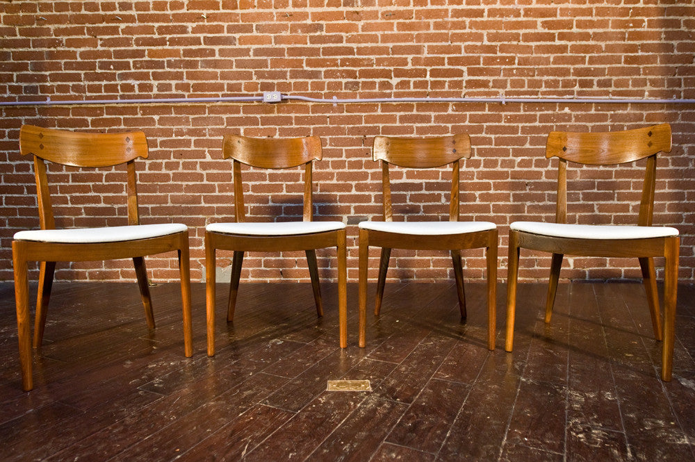 Kipp Stewart Drexel Declaration Dining Chairs