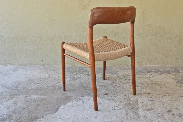 MØller #75 Teak Side / Desk Chair