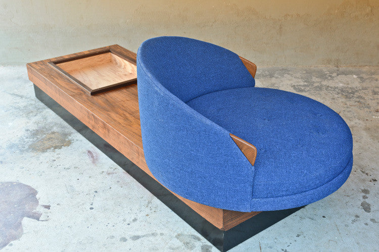 Adrian Pearsall Havana Chair on Platform Base