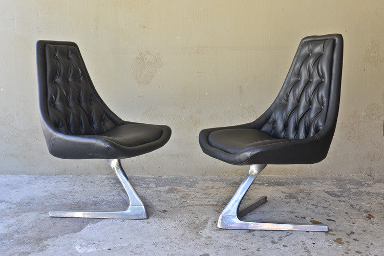 Pair of Chromcraft Sculpta Chairs