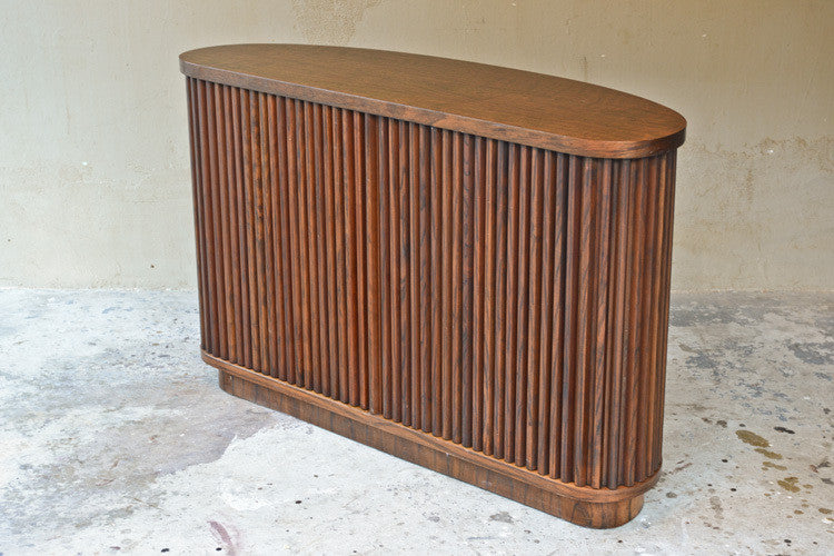 Curved Front Tambour Door Buffet