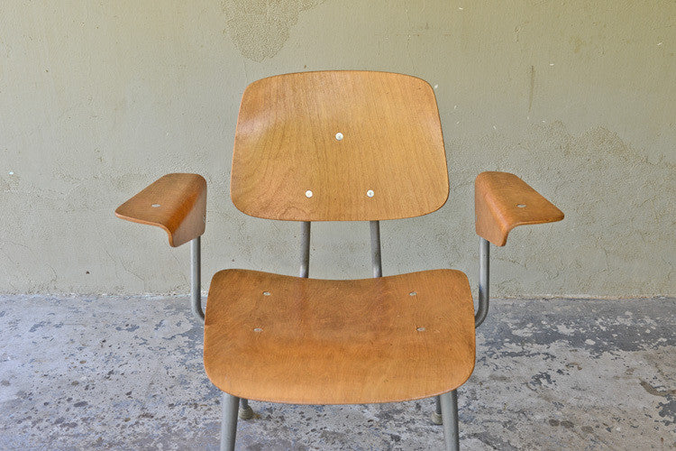 Set of Brunswick Molded Plywood Armchairs