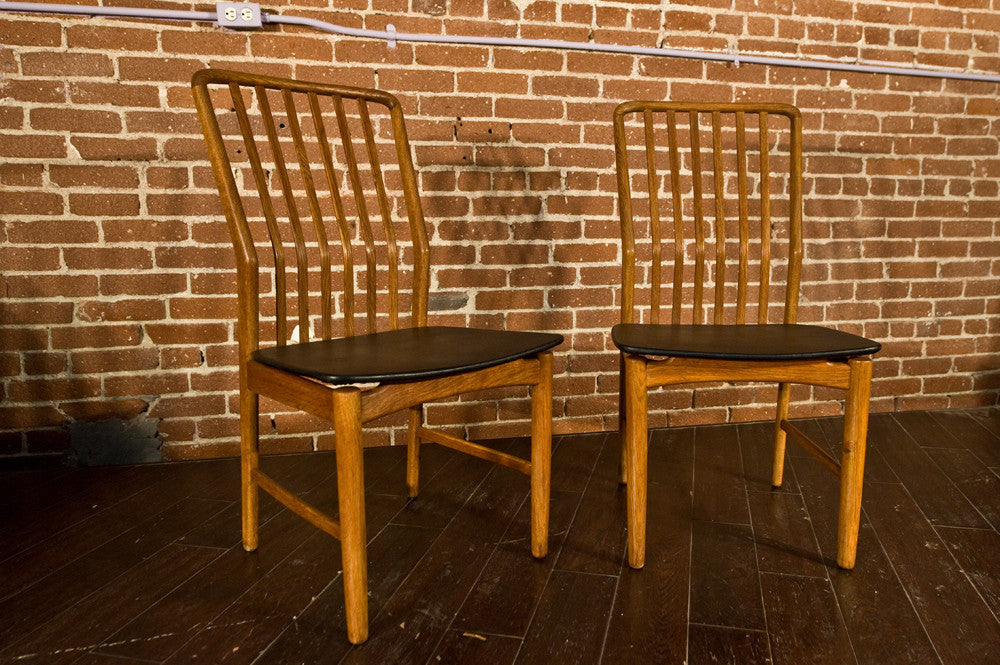 Pair of Svend Madsen for Moreddi Dining Chairs