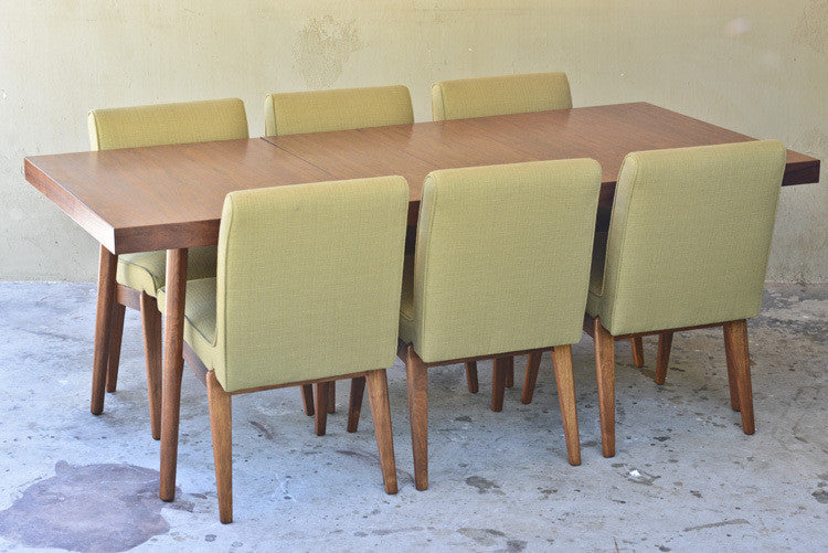 Walnut Dining Set By Stanley Young for Glenn of California