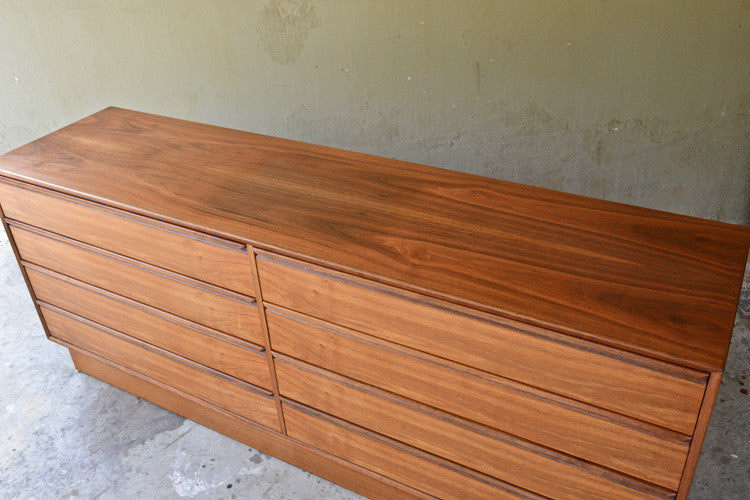 Teak 8 Drawer Dresser by Westnofa