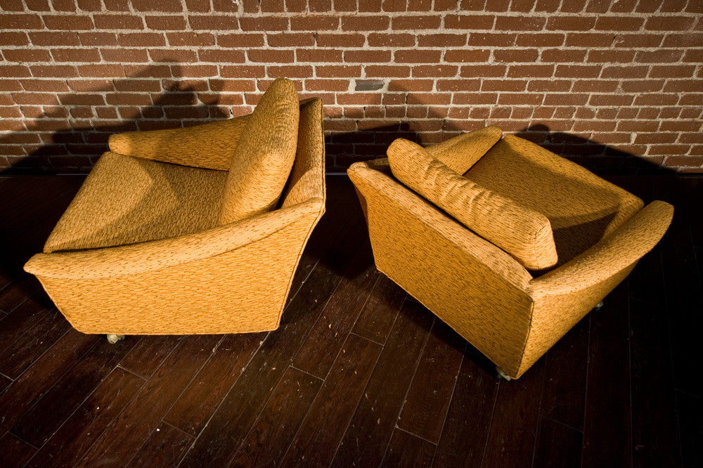 Beautiful Pair of Mid Century Lounge Chairs
