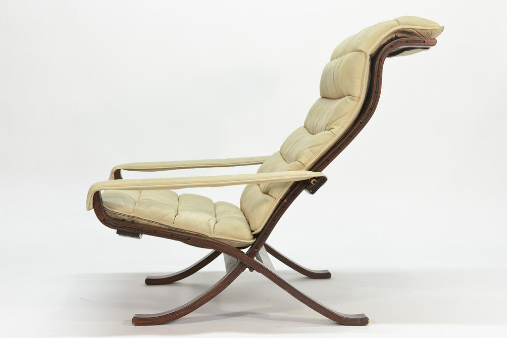 Folding Siesta Lounge Chair by Ingmar Relling