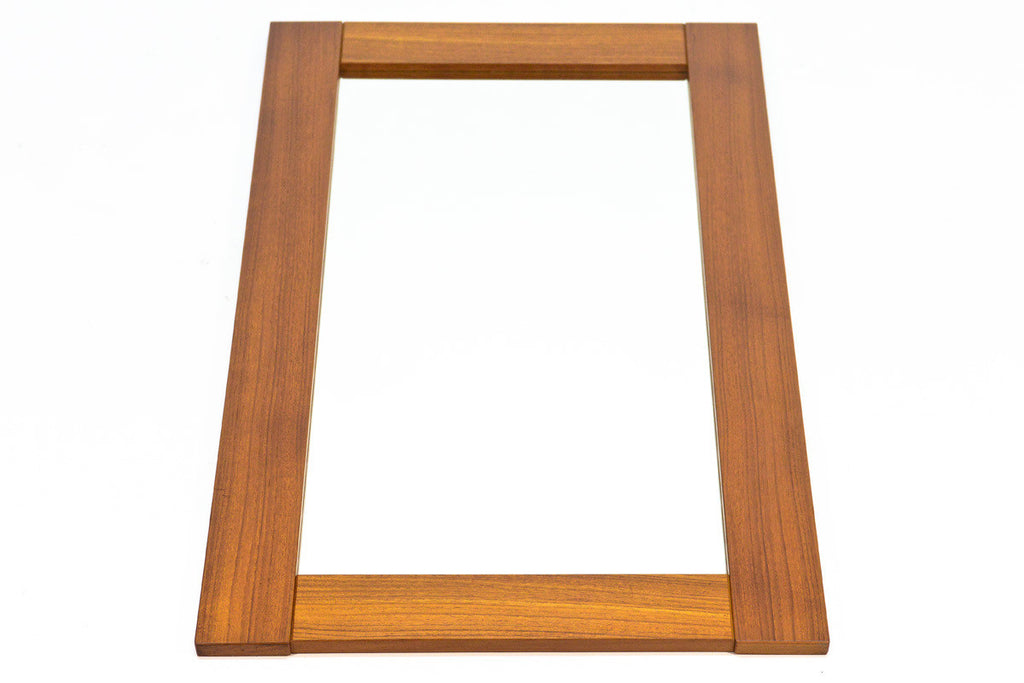 Danish Teak Mirror by Pedersen and Hansen