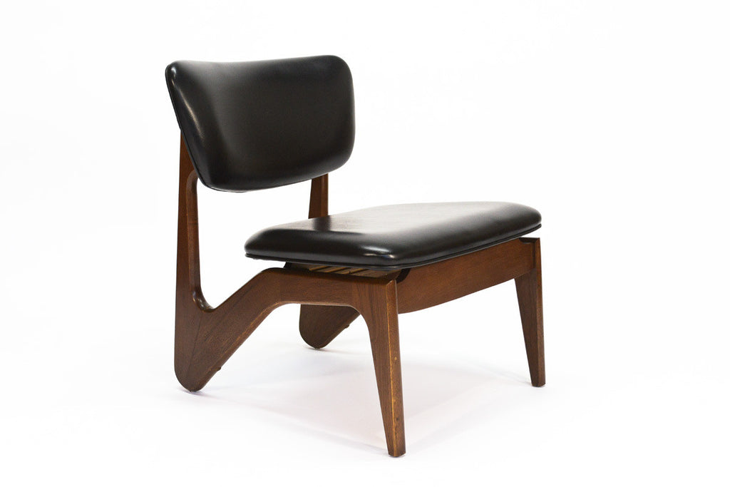 Adrian Pearsall Style Armless Lounge Chair
