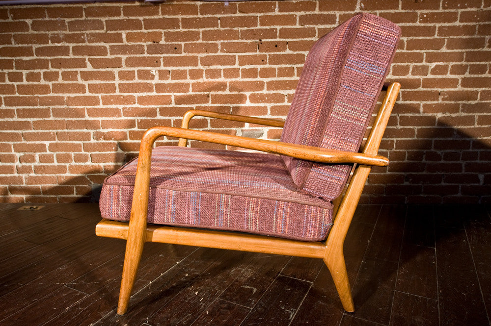Solid Walnut Mel Smilow Lounge Chair