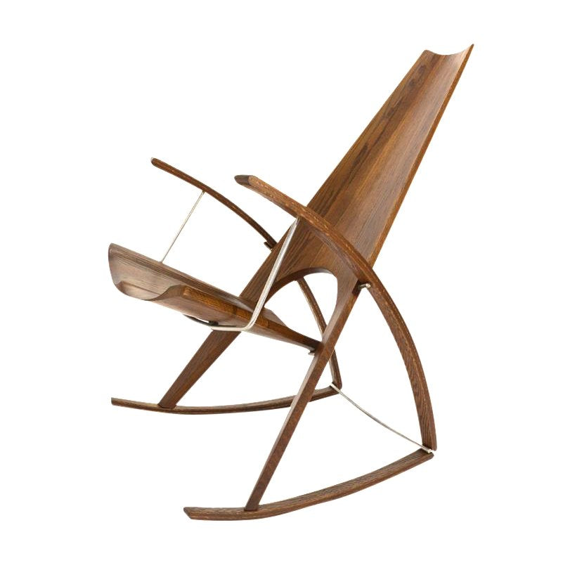 Studio Craft Rocking Chair by Leon Meyer - 1983