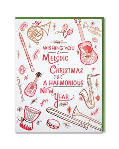 Melodic Christmas and Harmonious New Year Boxed set of 6