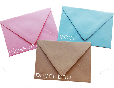 4 Bar Envelopes