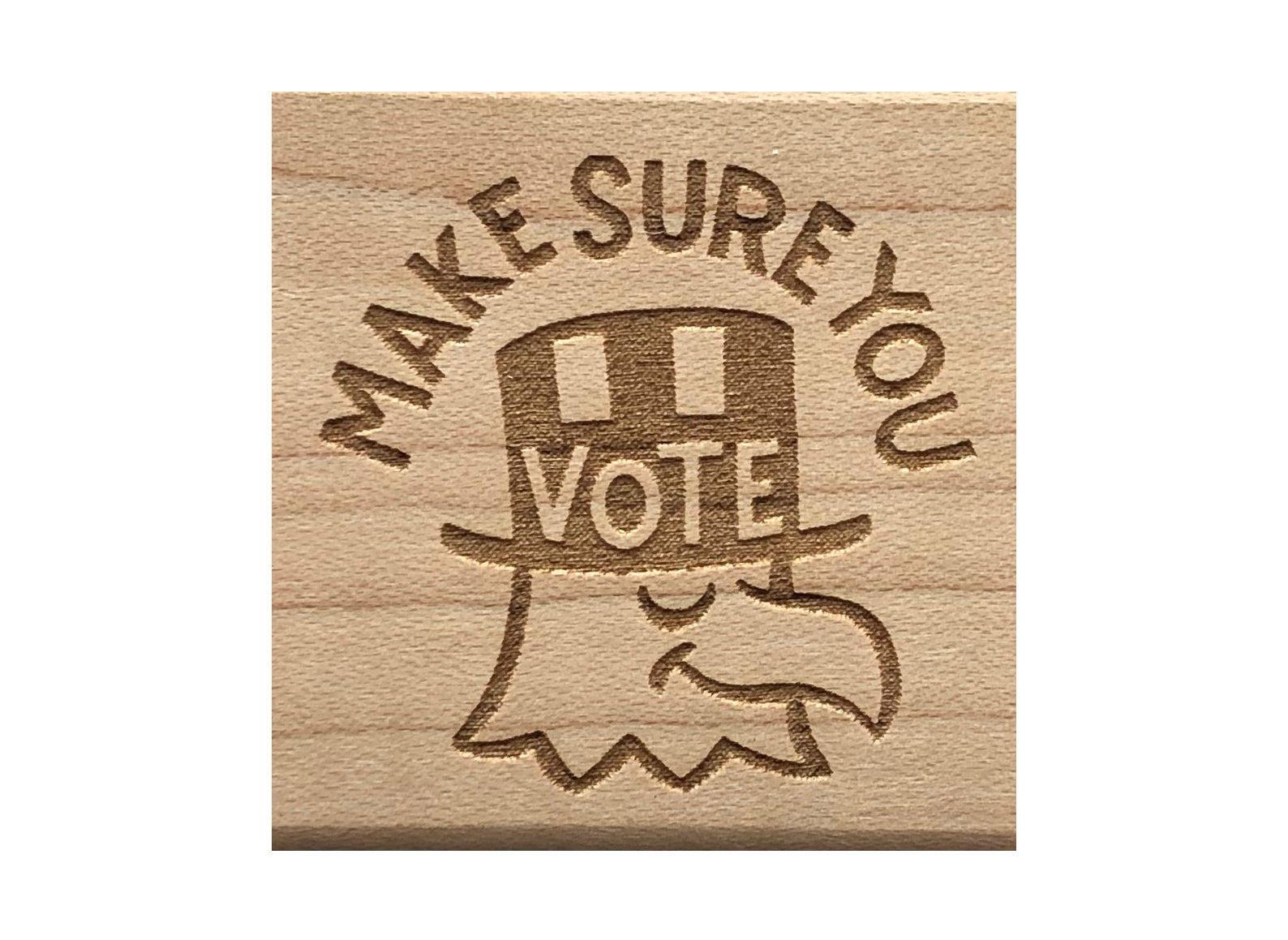 MAKE SURE YOU VOTE Eagle Rubber Stamp