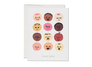 Sweet Baby Faces Card