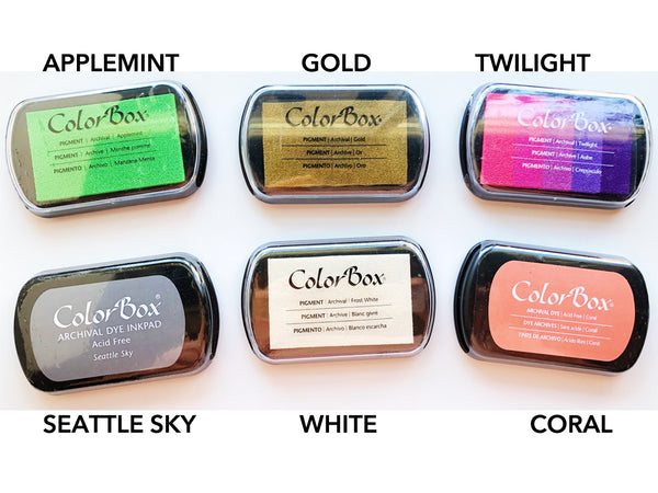 THE LAST COLORBOX INK PADS EVER