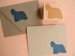 Cocker Spaniel Dog Rubber Stamp