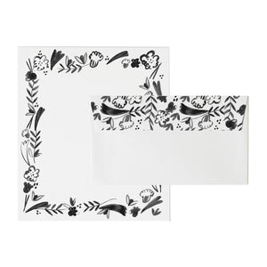 FLEURS FOR YOU LETTERHEAD SET