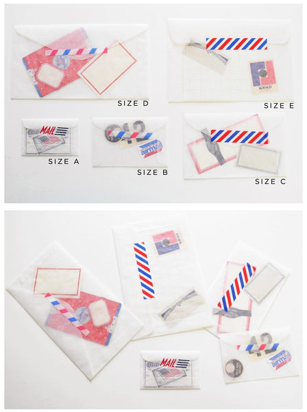 Glassine Envelopes - Set of 10