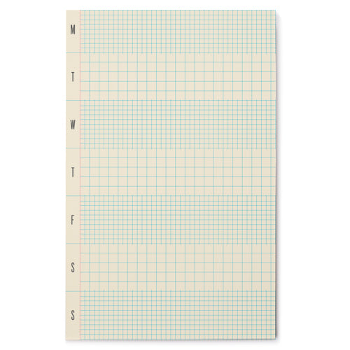 Weekly GRID NOTEPAD