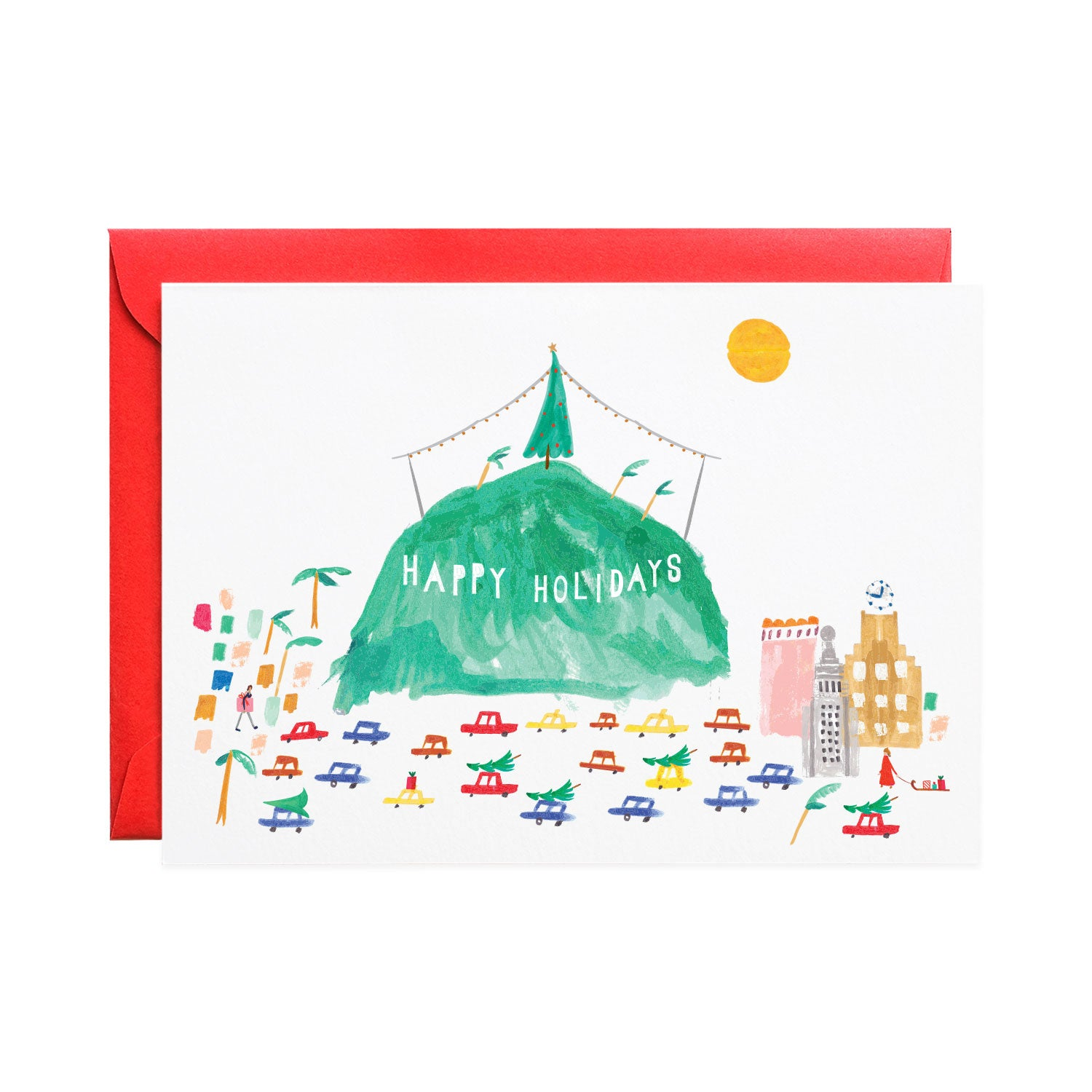 HOLLYWOOD HOLIDAYS - HOLIDAY CARD