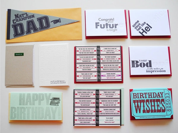 Letterpress Cards by A. Favorite