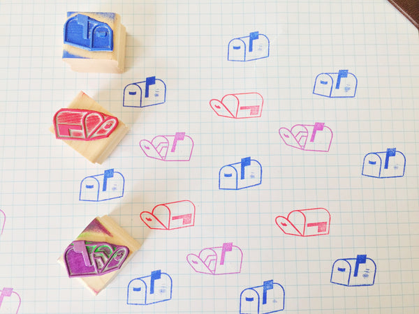 Icon Rubber Stamps