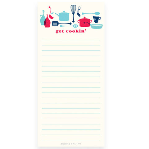 Get Cookin' Notepad