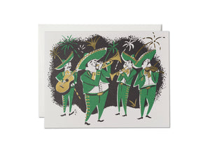 Mariachis Greeting Card
