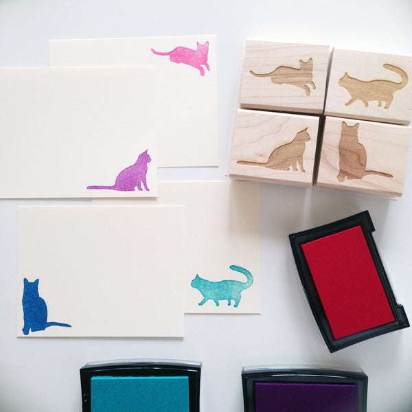 Paper Pastries Cat Stationery Set