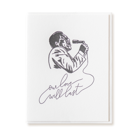Otis Redding Love Card