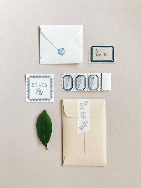 Petite Stamps: Floral Edition