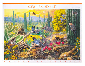 Nature of America: Sonoran Desert Desert Mint Postage Stamps