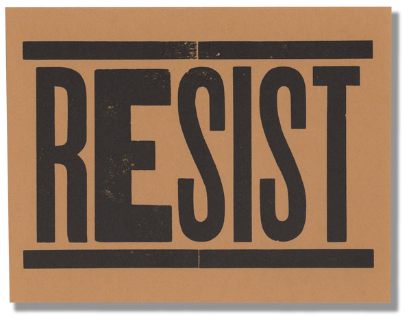 Resist Postcard Pack