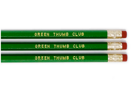 Pencil Set – Green Thumb Club