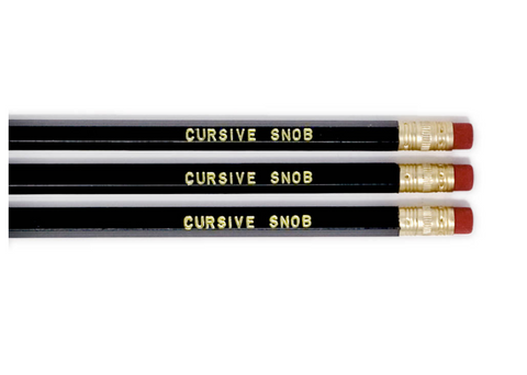 Pencil Set – Cursive Snob