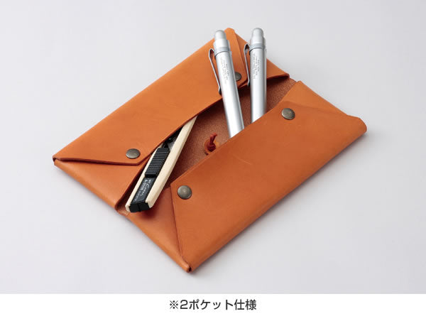 Spalding & Bros Leather Pen Case