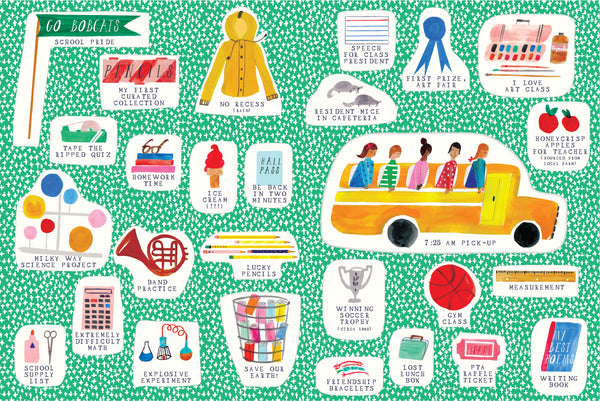 STICKER BOOKLETTE - THE SCHOOL SET