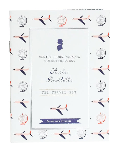 STICKER BOOKLETTE - THE TRAVEL SET
