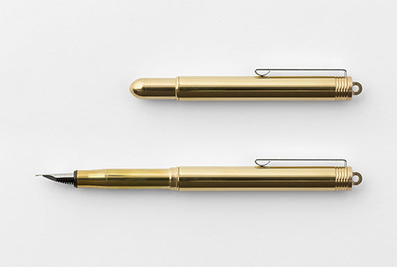 TRAVELER'S COMPANY BRASS Fountain Pen