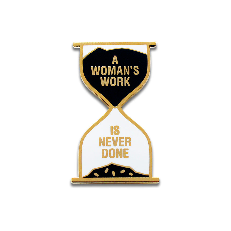 Women's Work Enamel Pin