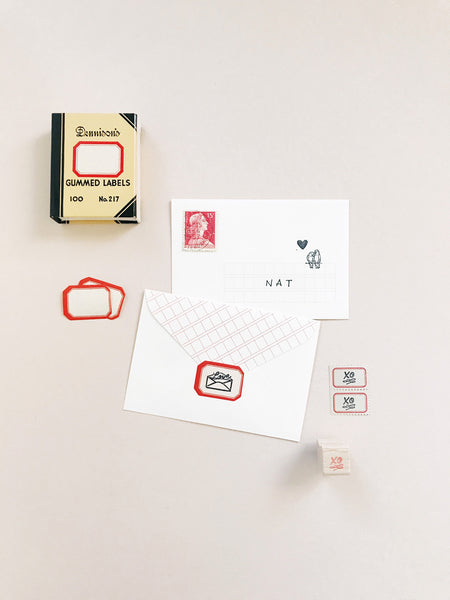 Petite Stamps: XO Edition